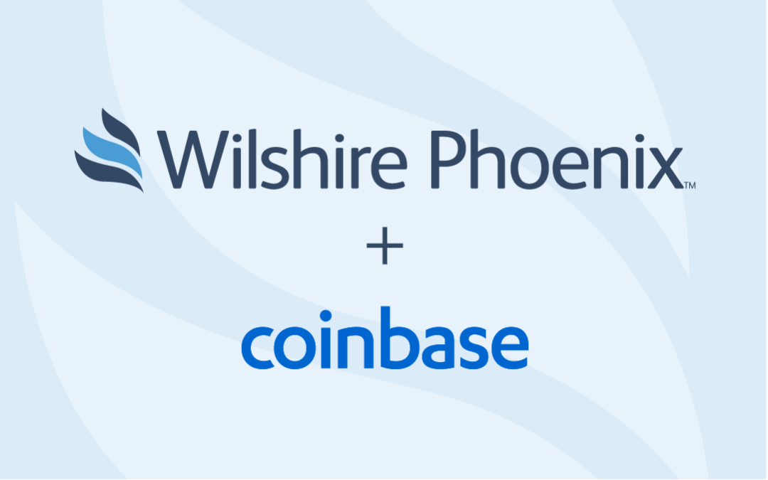 Wilshire Phoenix Teams Up with Cryptocurrency Leader Coinbase Custody to Release New Institutional Fund by Year-End
